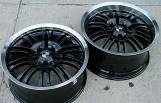 RVM M3D 18 BLACK RIMS WHEELS BMW E36 E46 E92 STAG