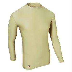 Fit Compression Long Sleeve Tee, X Large, Fatigue
