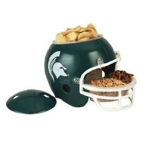 NCAA Michigan State Spartans Snack Bowl Helmet  Sports