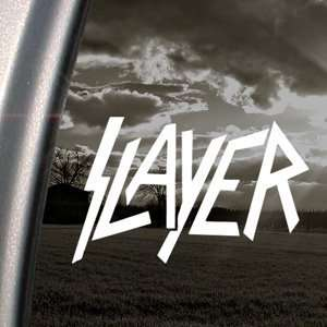 Slayer Decal Metal Band Car Truck Window Sticker Arts