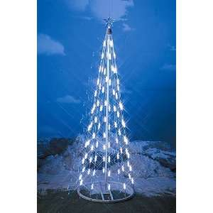 HomeBrite 4 ft. White Light Strand Christmas Tree
