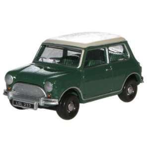 Austin Mini Cooper   Almond Green/Old English White   1