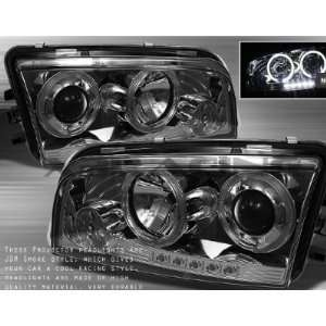 Dodge Charger 2006 2007 2008 2009 2010 Halo LED Projector Headlights
