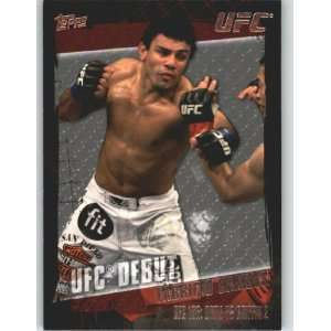 2010 Topps UFC Trading Card # 137 Fabricio Camoes (Ultimate