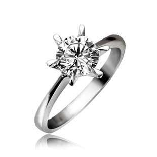 50CT 18K WHITE GOLD DIAMOND RING SETTING SEMI MOUNT