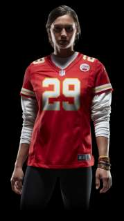 NFL Kansas City Chiefs (Eric Berry) Womens Football Home