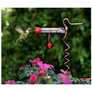 One Tube Feeder (Bird Feeders) (Hummingbird Feeders )