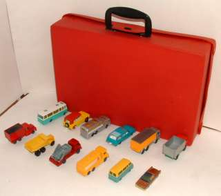 1960s SET OF 12 HUSKY/MATCHBOX DIECAST VEHICLES LOT 6 W/HUSKY