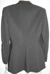 Calvin Klein Suit Blazer Black 4 NWT Womens Stretch