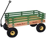 Road Speeder, Radio Flyer style Childrens Kids Red Wagon 20x40