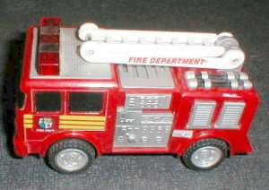 2000 FunRise Fire Truck Moves, Lights & Makes Noise