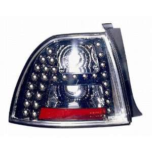 1968PXUS2 Honda Accord Coupe/Sedan Black LED Tail Light Automotive
