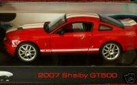 HOT WHEELS 2007 FORD MUSTANG SHELBY GT500 1/18 ELITE ED