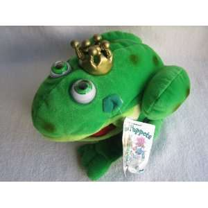 the Frog Eyeball Animation Hand Puppet Plush (6 1/2) Toys & Games