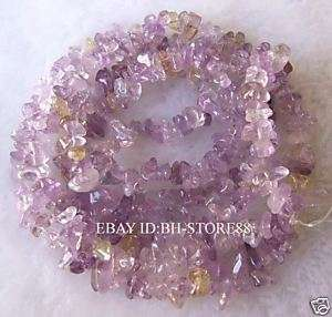 11mm Natural Amethyst Chips Seed Beads 35