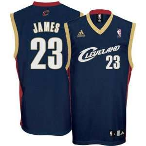 LeBron James Youth Jersey adidas Navy Replica #23