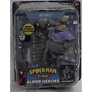 Spiderman Spider man & Friends Rhino Figure with Charging