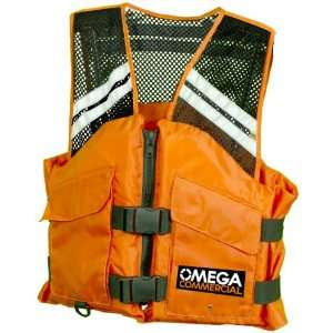 Omega Type III Commercial Comfort Mesh Life Vest Sports