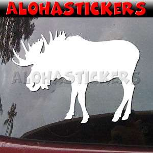 BULL MOOSE Vinyl Decal Hunting Car Truck Sticker B166
