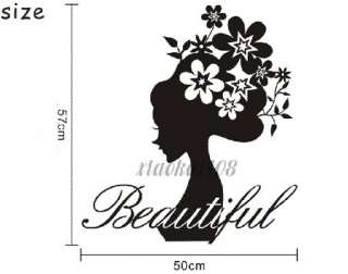 Flower Fairies DIY Removable Wall Art Deco Decal Sticker Wall Paper