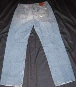 MENS LUCKY BRAND JEANS 181 JEAN RELAXED FIT SIZE 34 X 32