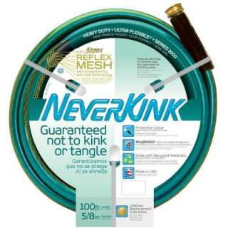 Neverkink 5/8 in. x 100 ft. Heavy Duty Hose 8605 100