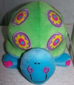 Happy House Animal Alley *Whimsical Green Turtle* Plush