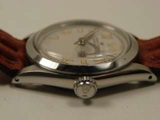 CLASSIC 1959 ROLEX OYSTER SPEEDKING REF 6430 WATCH. SERVICED.