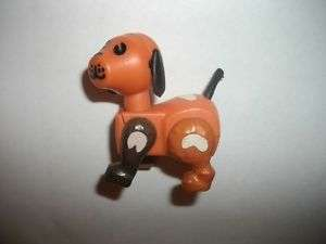 RARE Vintage Fisher Price Little People spot dog hex nu