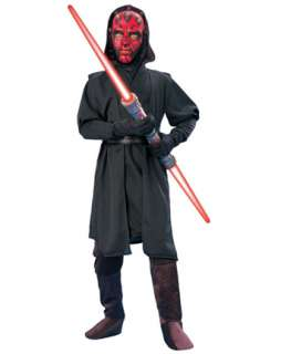 Child Deluxe Darth Maul Costume  Boys Star Wars Halloween Costumes
