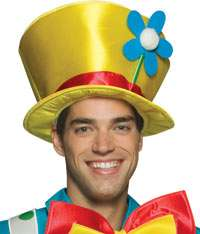 Daisy Clown Hat   Clown Accessories