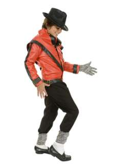 Childs Michael Jackson Thriller Jacket TV and Movie Boys Costumes