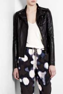 Brand  Soft Leather Biker Jacket by J Brand