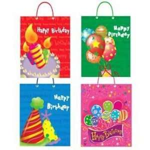 Medium Happy Birthday Bag 4 Assorted Case Pack 240