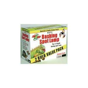 Zoo Med Laboratories Basking Spot Lamp 75 Watts 2 Pack