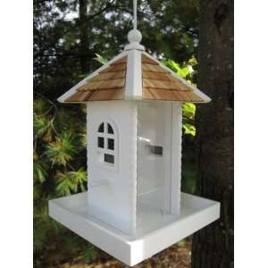 Fair Haven Cottage Hanging Wild Bird Seed Feeder Patio, Lawn & Garden