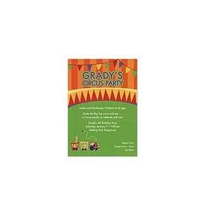 Circus Party Invitation Birthday Party Invitations Health
