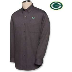 Cutter & Buck Green Bay Packers Mens Big & Tall Nailshead Long Sleeve