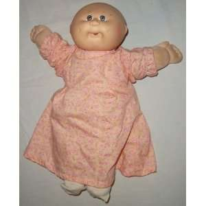 Cabbage Patch Kids Girl Baby with Pink Plaid Dress
