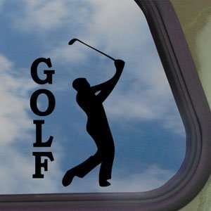 Golf Black Decal Car Truck Bumper Window Vinyl Sticker