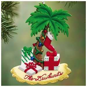 CHRISTMAS PALM TREE ORNAMENT   PERSONALIZED Everything