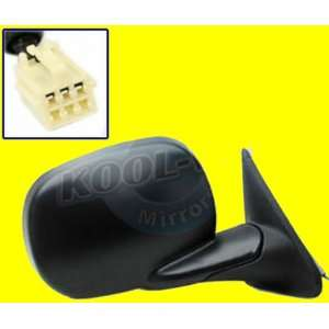 QP D080C a Dodge Black Power Passenger Side Mirror