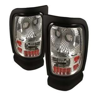 94 01 Dodge Ram Chrome Tail Lights Automotive