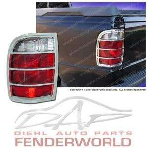 FORD RANGER 02 03 04 05 06 CHROME TAIL LIGHT COVER TRIM