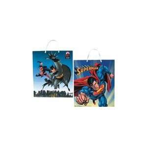 Batman and Superman Halloween Candy Bags (Case of 60