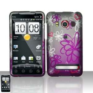 HTC EVO 4G + LCD Screen Guard Film (Free Wristband) Cell Phones