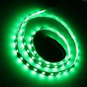 Green 1M 60 LED 5050 SMD Flexible Car Strip Light Automotive