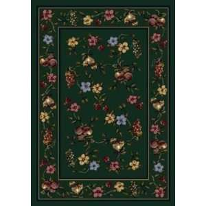 Signature Lorelei Emerald Country 7.7 ROUND Area Rug