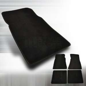 1979 1993 Ford Mustang 4pc Black Floor Mat Automotive