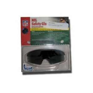 Kansas City Chiefs NFL Safety Glasses (Gray Lens) Sports